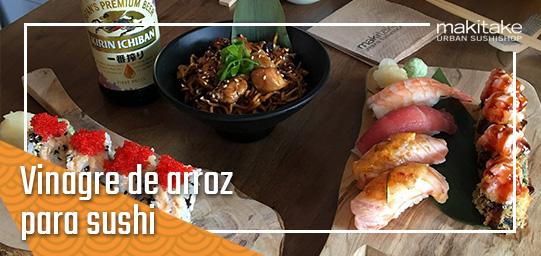 vinagre de arroz para sushi