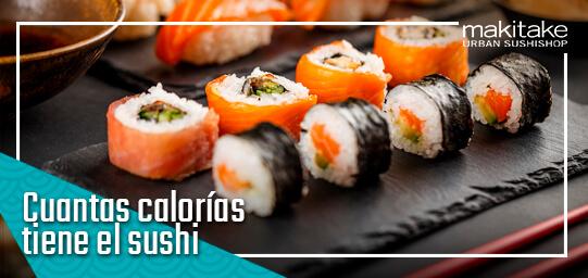 Cuantas calorias tiene el sushi