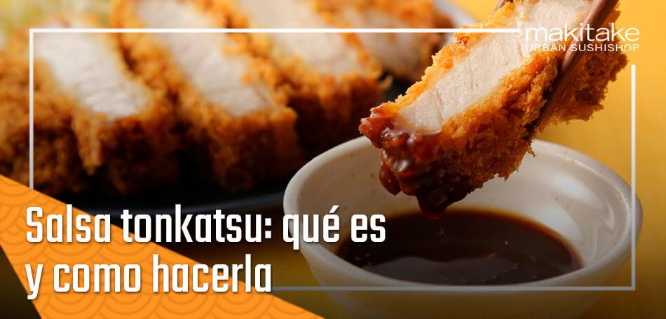 salsa tonkatsu que es y como hacerla